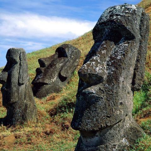 Статуи на острове Пасхи