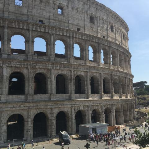 Колизей, Италия, Рим