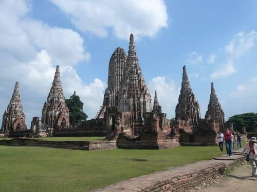 Храмы Аюттайя в Тайланде
