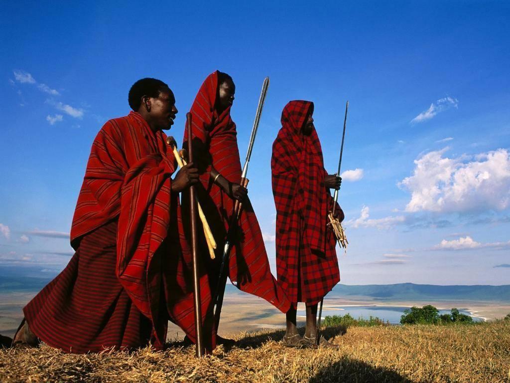 Африка, Масаи