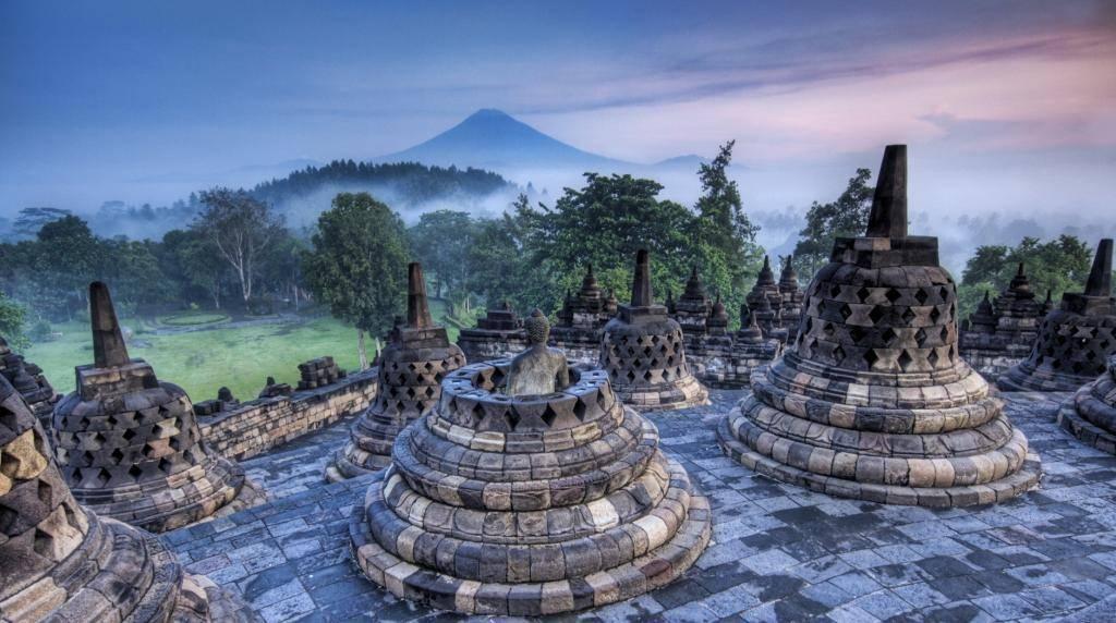 Храм Боробудур Индонезия Ява