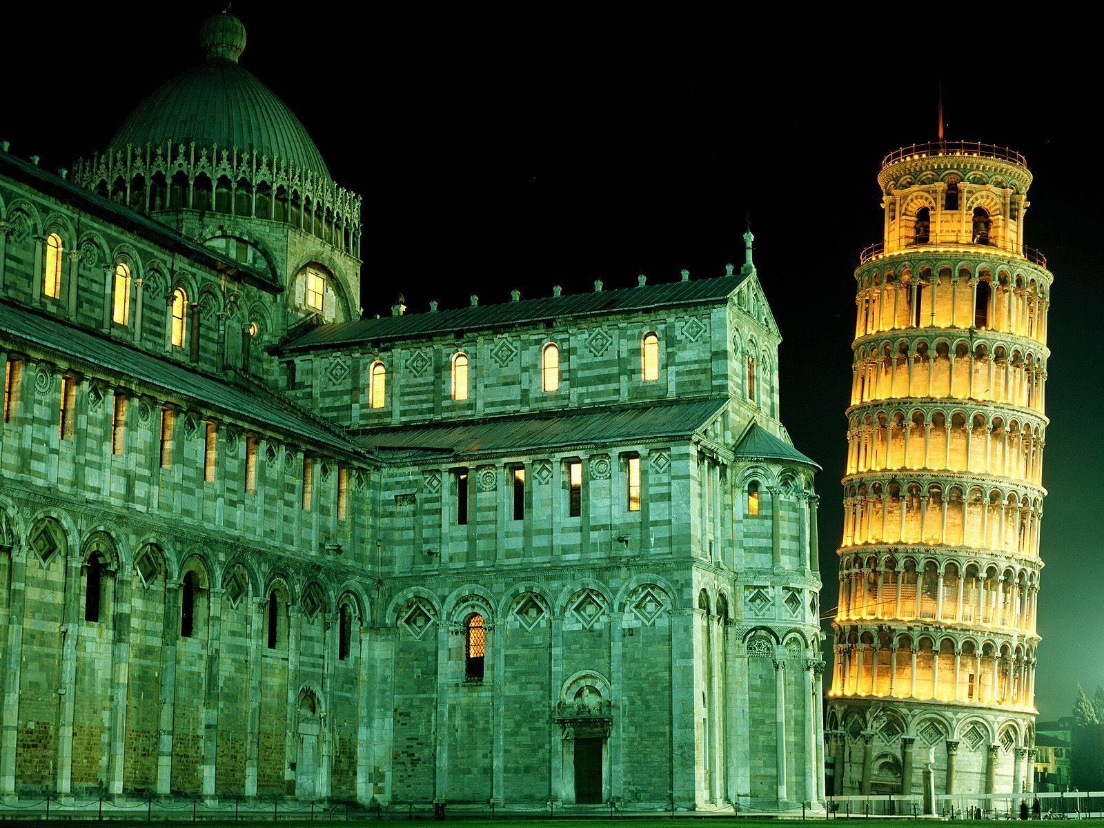 Собор Пизы и Пизанская башня