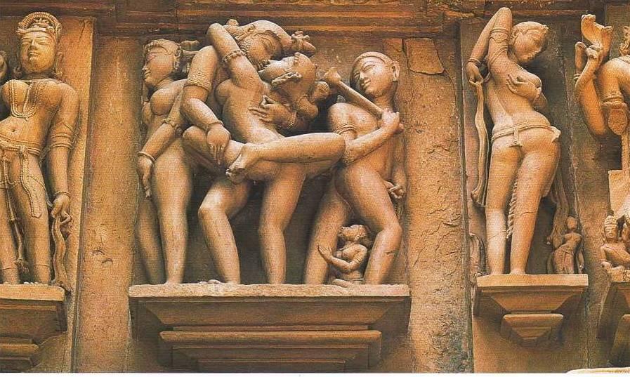 Храм Кама-Сутры в Индии