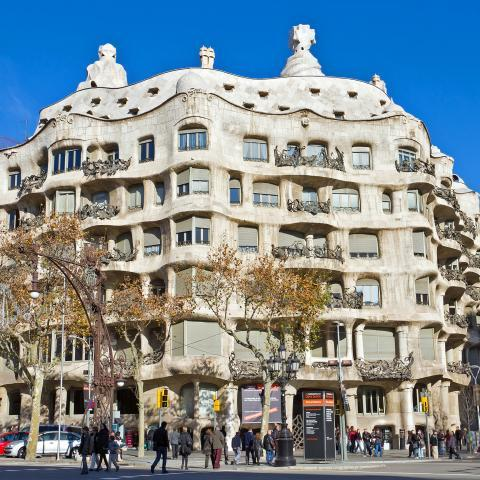 Гауди Барселона Каса Мила