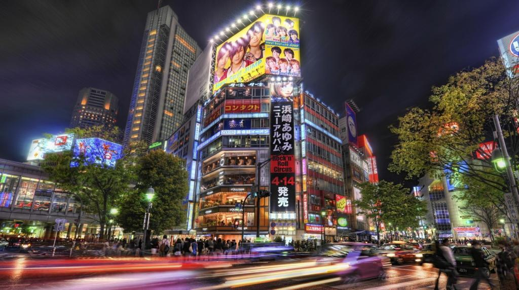 Улицы Токио
