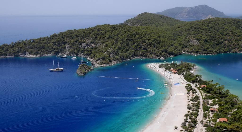 Турция побережье