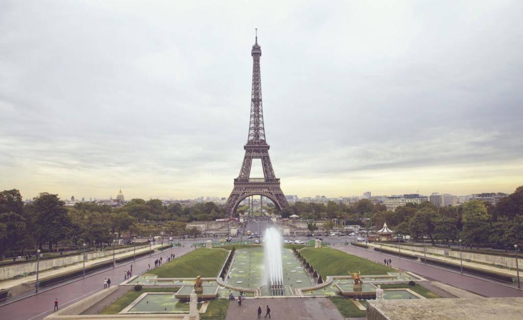 свадебное путешествие париж