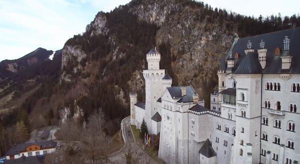 Германия. Замок Нойшванштайн