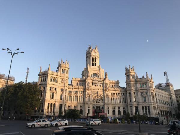 Мадрид площадь