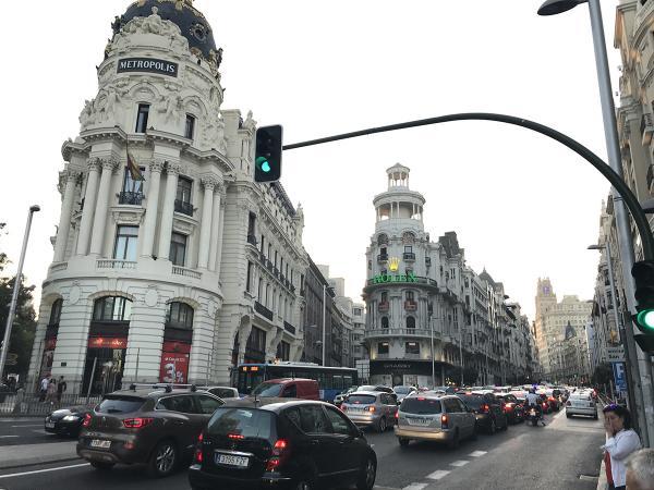 Испания. Мадрид. Архитектура