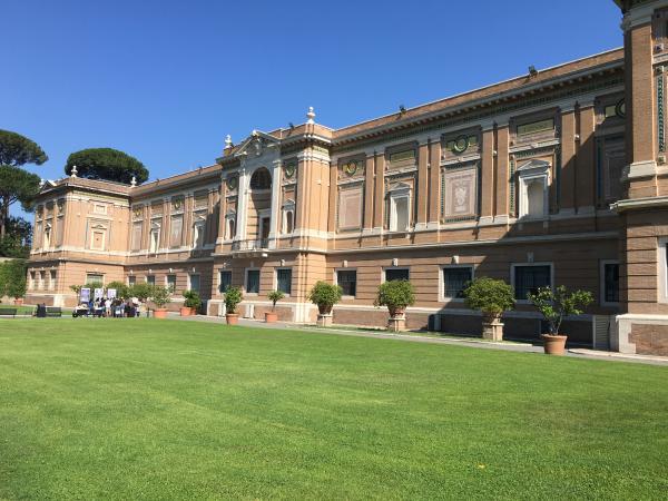 Италия. Музеи Ватикана посещение