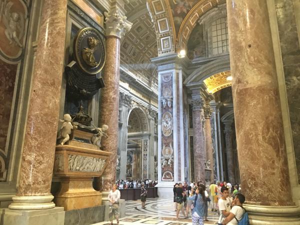 Фото. Италия. Ватикан. Собор Святого Петра