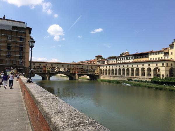 Флоренция Золотой мост