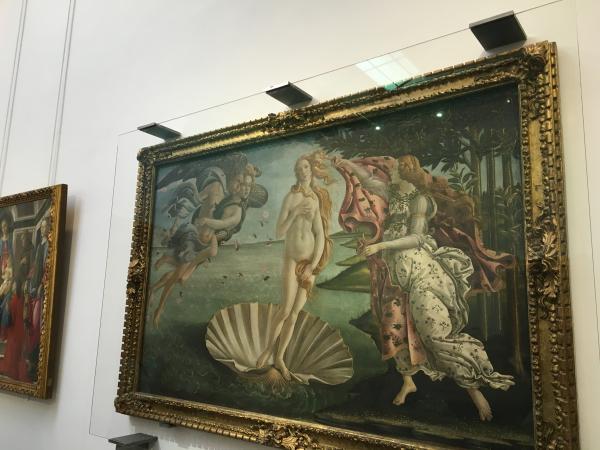 Флоренция картины в Уффици