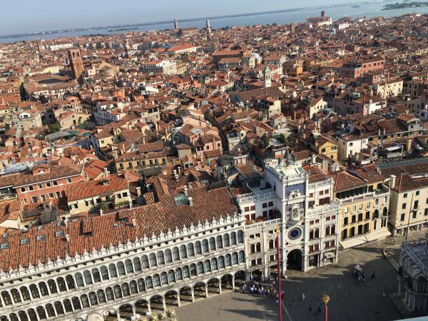 Венеция вид с высоты
