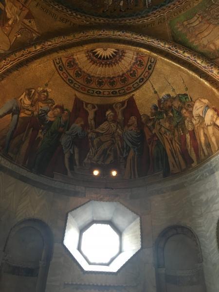 Италия. Венеция. Сан Марко фрески
