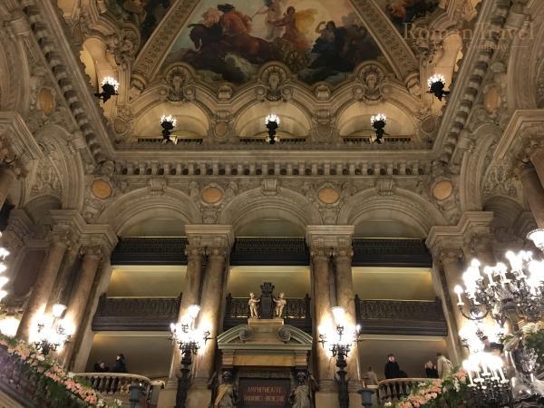 Парижская опера внутри фото