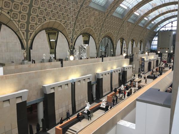 Музей Орсе Париж фото