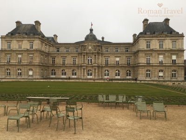 Люксембургский парк Париж