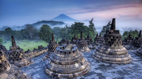 Индонезия. Храм Боробудур