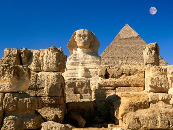 Египет. Плавание по Нилу. Сфинкс