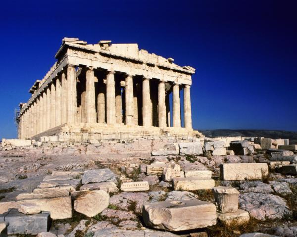 Греция Афины храм