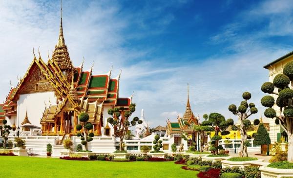 Таиланд. Бангкок. Храм Будды