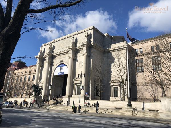 Нью-Йорк. США. Музей национальной истории