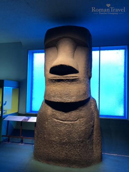 Нью-Йорк. США. Музей национальной истории статуи