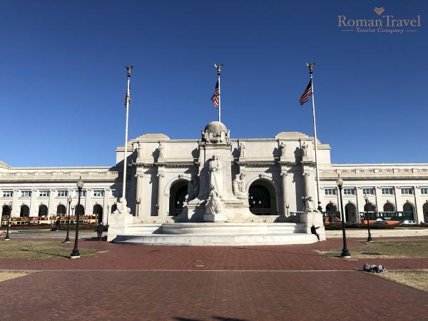 Вашингтон. Центральный вокзал. Юнион Стейшн