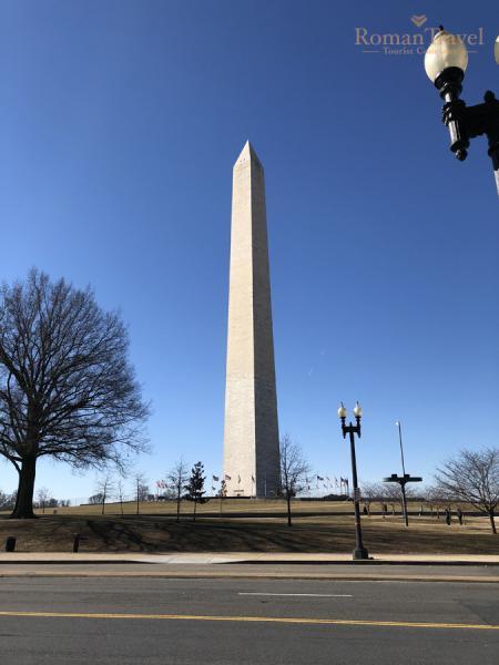 Вашингтон. Монумент Вашингтона. Обелиск.