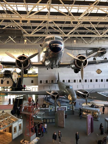 Вашингтон. Национальный музей астронавтики