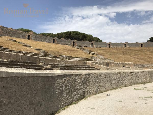 Италия. Раскопки Помпеи посещение