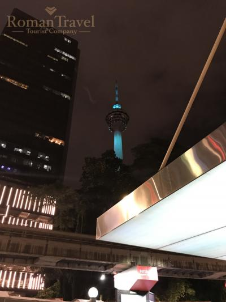 Телевизионная башня Менара Куала-Лумпур