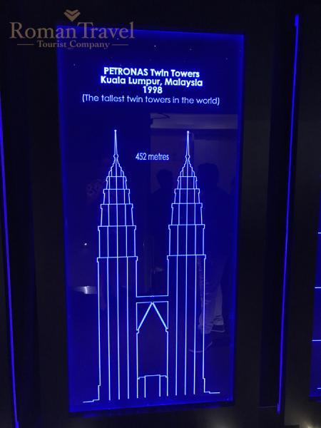 Башни Петронас. Куала-Лумпур. Малайзия