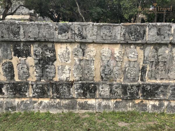Мексика. Город Майя. Чичен-Ица