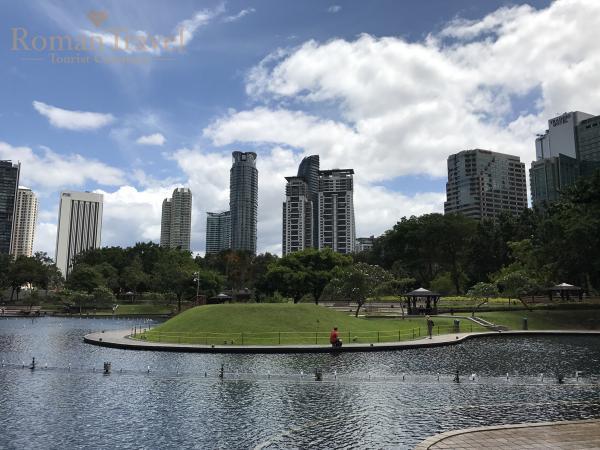 Парк «Озерные сады» Куала-Лумпур