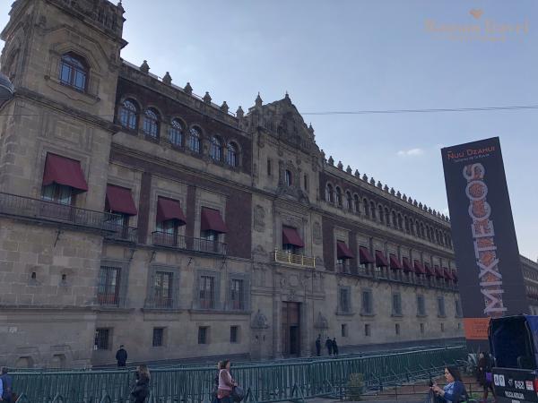 Дворец Президента. Мехико Сити. Мексика