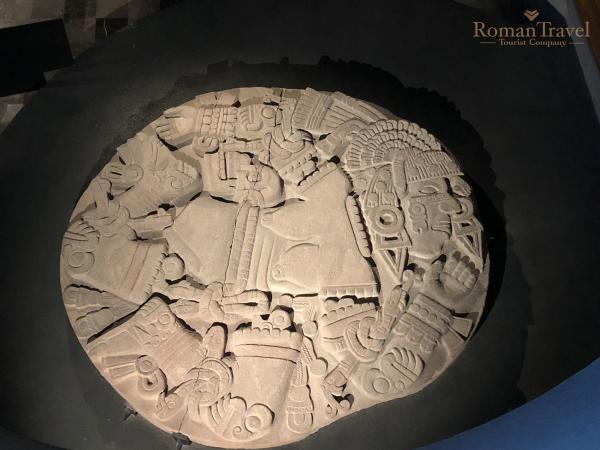 Темпло Майор или Великий храм ацтеков в Мехико