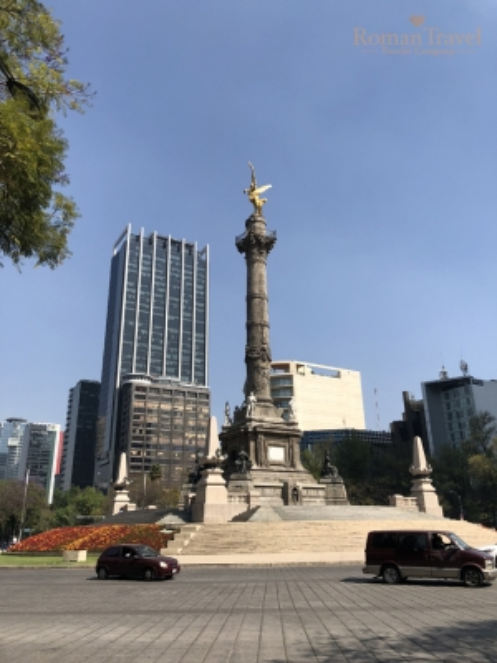 Пасео де ла Реформа. Мехико