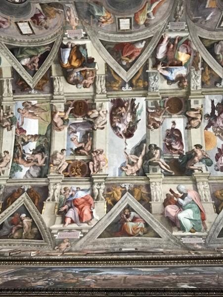 Сикстинская капелла. Ватикан. Италия