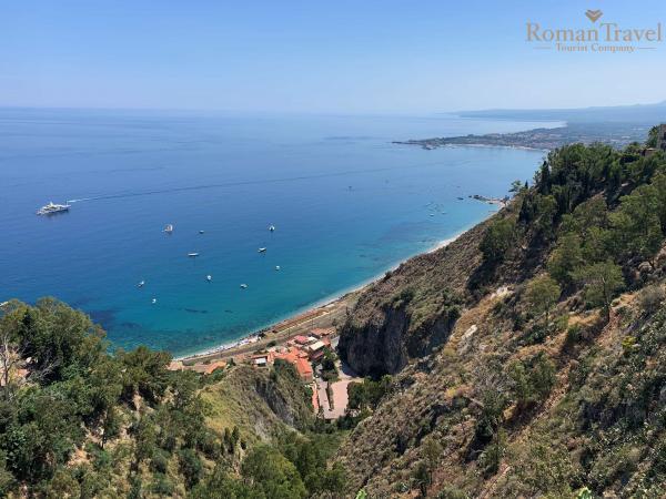Таормина Сицилия пляжи