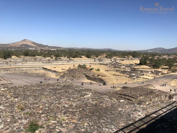 Храм Кацелькоатля Мексика Теотиуакан