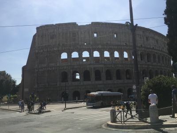 Италия. Колизей в Риме