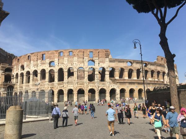 Италия. Колизей. Рим
