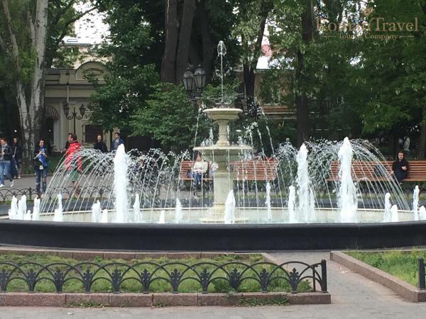 Одесса фонтаны