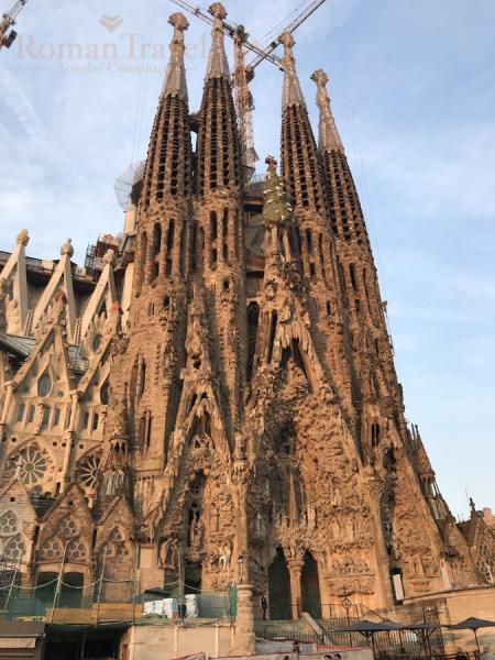 Барселона Святое Семейство