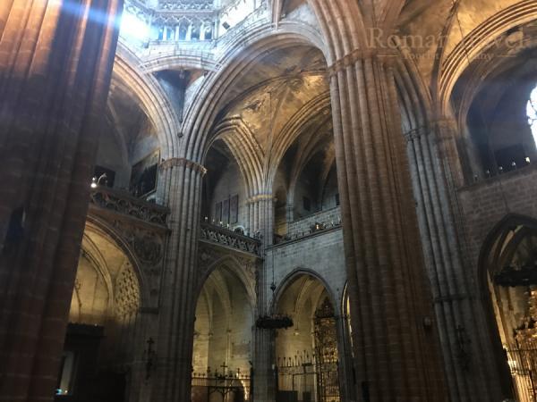 Старый Собор в Барселоне
