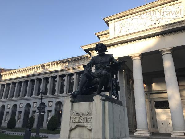 Испания. Мадрид. Музей Прадо Веласкес