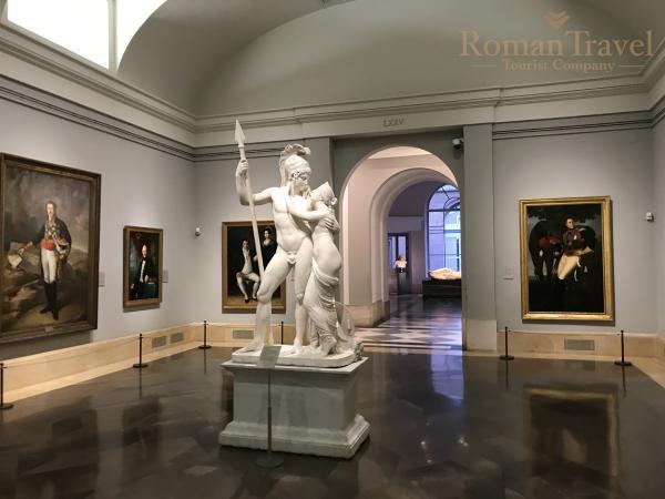 Испания. Мадрид. Музей Прадо статуи